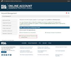 enter a certificate to foreign government cfg application step fis home page