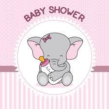 <b>Laeacco</b> Elephant Baby Shower Backdrops Party <b>Cartoon</b> Bottle ...