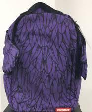 <b>Sprayground</b> фиолетовый рюкзаки, сумки и портфели для мужчин