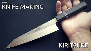 Knife Making - Kiritsuke <b>Japan Kitchen Knife</b> - YouTube