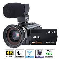 Video Camera Camcorder 4K kicteck Ultra HD Digital ... - Amazon.com