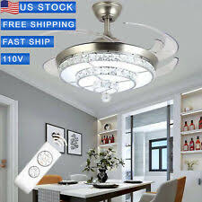 <b>LED Crystal</b> Modern Chandeliers & <b>Ceiling</b> Fixtures for sale | eBay