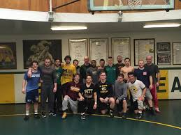 seventeen alumni join current team in the wrestling room for seventeen alumni join current team in the wrestling room for christmas