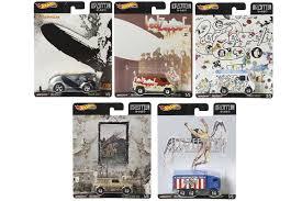 <b>Led Zeppelin</b> Hot Wheels Car Collection Announced