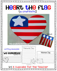 I     m Back  Updated Pack and a Freebie      A Cupcake for the Teacher It     s an    pager that would be perfect for Veterans Day  too  thank you  hero   free printables  includes writing pages with graphics for