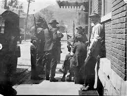 history blair mountain reenactment society page  don chafin s militia