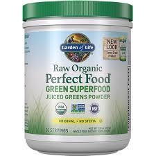 <b>Raw Organic Perfect Food</b> Green Superfood Powder Original - No ...