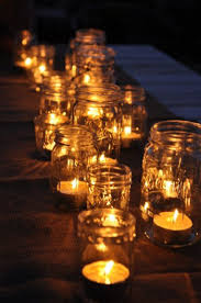 jar candle holders candle lighting ideas