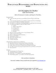 drafter resume template drafter resume
