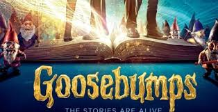 Image result for goosebumps movie poster 2015