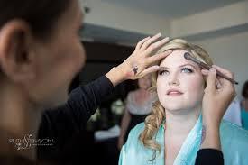 mac 27 london high fashion professional make up artist with bride