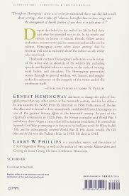 ernest hemingway on writing amazon co uk ernest hemingway larry ernest hemingway on writing amazon co uk ernest hemingway larry w phillips 8601404695179 books