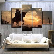 LLLYZZ Home Decoration Painting 5 Pieces The ... - Amazon.com