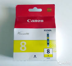 <b>Картридж Canon CLI</b>-8Y желтый Оригинал купить в Москве на ...