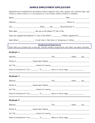 best photos of sample employment application sample job sample job application pdf