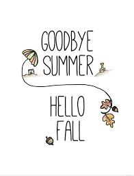Afbeeldingsresultaat voor goodbye summer hello spring
