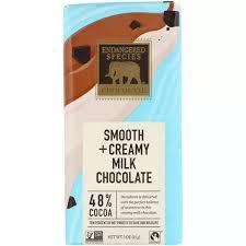 Endangered Species Chocolate <b>Smooth Creamy Milk</b>