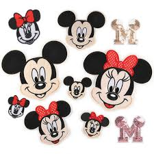 DIY <b>1pc Embroidered Cartoon</b> Micky Mouse Iron On <b>Patches</b> For ...