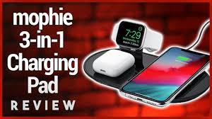 Mophie <b>3-in-1 Wireless</b> Charging Pad Review - Apple AirPower Mat ...