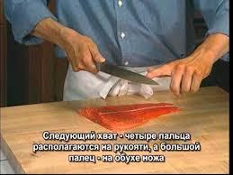 Мастер-класс по кухонным ножам. Часть 4. Слайсер - YouTube