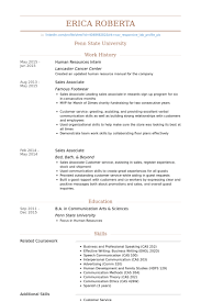 human resources intern resume samples resume samples human resources intern resume samples
