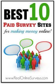 17 best ideas about paid survey sites online survey best 10 paid survey sites for making money online
