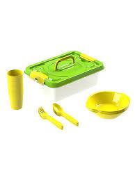 <b>Набор посуды для пикника</b> на 4 персоны из 17 предметов ...