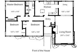 Free Small House Plans   For Ideas or Just DreamingPlans For Bedroom  Bathroom House   © Lee Wallender  Licensed to About