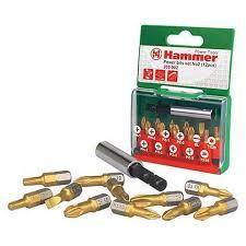 <b>Набор бит Hammer 203-902</b> PB №2, Ph/Pz/Sl/Tx, 12 шт 30736 ...