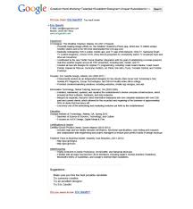 15 most creative resumes for 2015 google resume