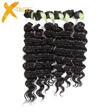 <b>Kinky Curly</b> Synthetic Hair Weave Bundles 16 20inch <b>8 Pieces</b> Sew ...