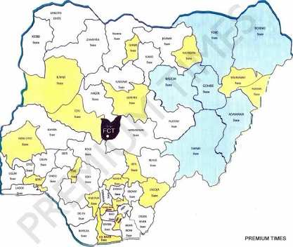 Which are the largest ethnic groups in Nigeria?