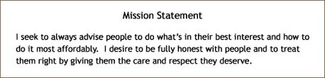 northwest senior insurance our mission statement