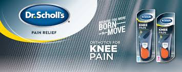 Dr. Scholl's KNEE Pain Relief Orthotics, <b>1 Pair</b> (<b>Men's</b> 8-14) (with ...