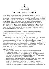 How to write the perfect personal statement cv happytom co