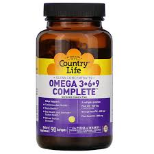 <b>Ultra Concentrated Omega</b> 3-6-9 Complete. Natural Lemon, 90 ...
