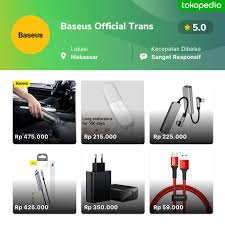 <b>Baseus</b> Official Trans - Tamalate, Kota Makassar | Tokopedia