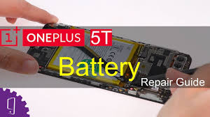 <b>OnePlus 5T</b> Battery Repair Guide - YouTube