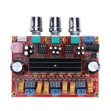 <b>TPA3116D2</b> 2x 50W +100W 2.1 Channel Digital Subwoofer Power ...