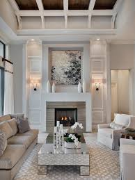 Perfect Modern Living Room With Fireplace Winsome Ideas 1012 Intended Decor