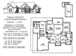 bedrooms  ½ story     square feet Bedroom  ½ Story house plans