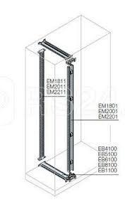 Купить <b>Стойка задняя для</b> каб. секции H=2000мм ABB EM2011 ...