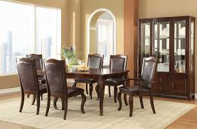 room table displays coaster set driftwood: louanna rectangular extendable dining room set from coaster  coleman furniture