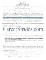 creative event planner resume sample recentresumes com event planner resume sample event coordinator job description