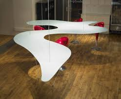 suspended table by berstein architects chair unusual dining chairs