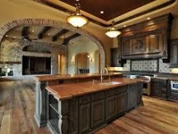 tuscan kitchen living room