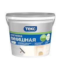 <b>Шпатлевка</b> финишная <b>Текс</b> Профи 1,5 кг — купить в Петровиче в ...
