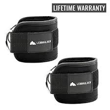 LEBBOULDER <b>Ankle Straps</b> for Use with Standard <b>Cable</b> Machines