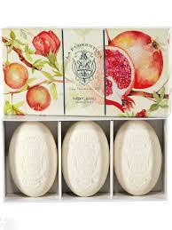 Набор <b>мыла</b> в подарочной коробке Bellosguardo: <b>Pomegranate</b> ...