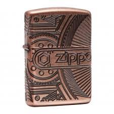 <b>Зажигалка ZIPPO Armor™</b> с покрытием Antique Copper™, <b>латунь</b> ...